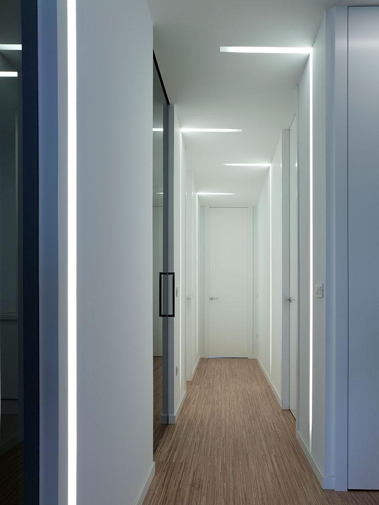 iluminacion pasillo