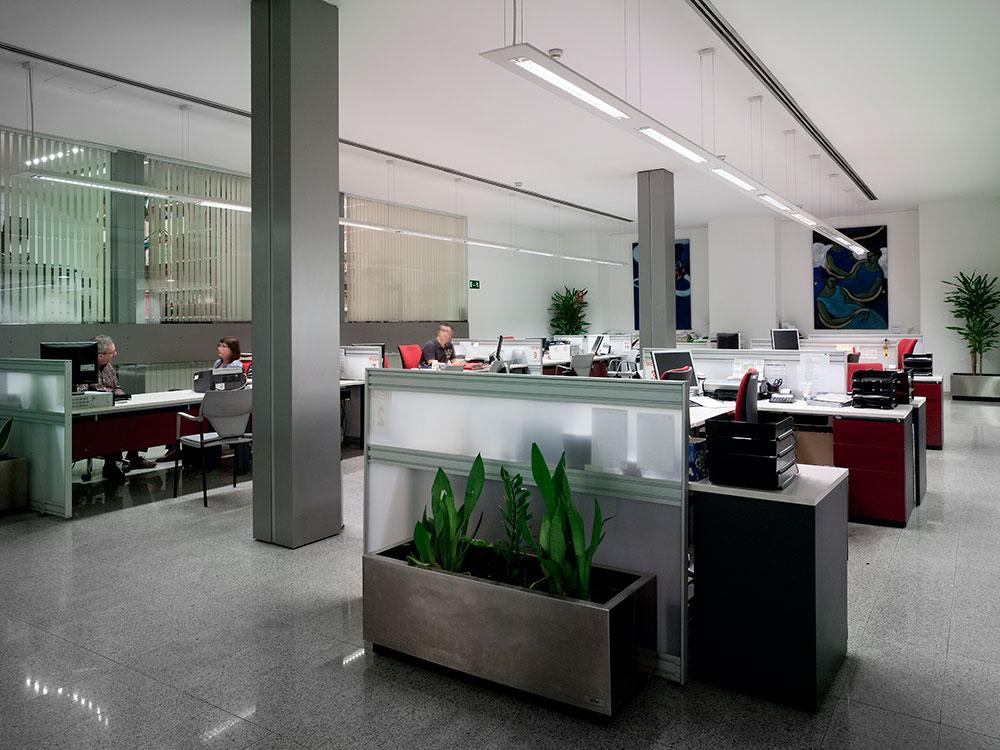 planta inferior oficina
