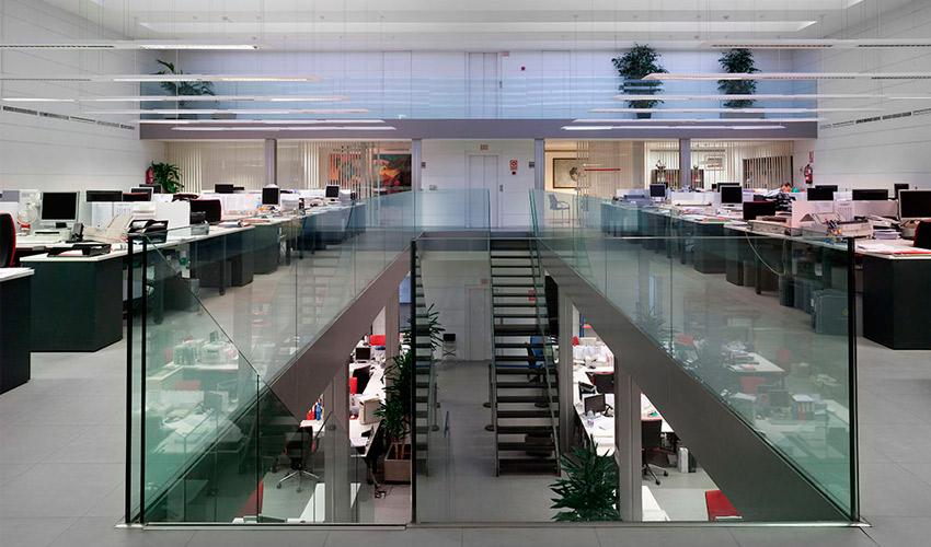 imagen de las oficinas superiores